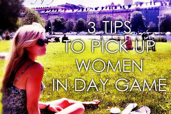 pick up women in daygame