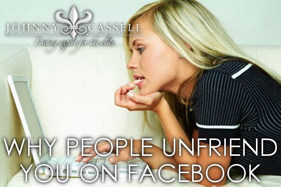 Why people unfriend you on Facebook