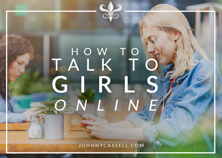 How to talk with girls online