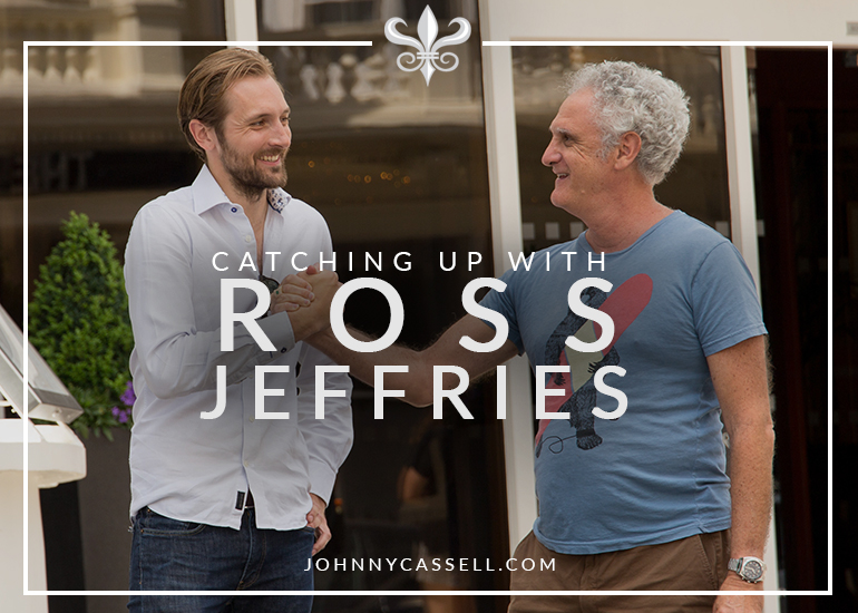 Johnny Cassell and Ross Jeffries