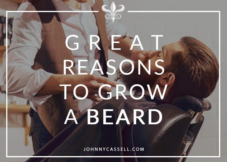 reasons to grow a beard