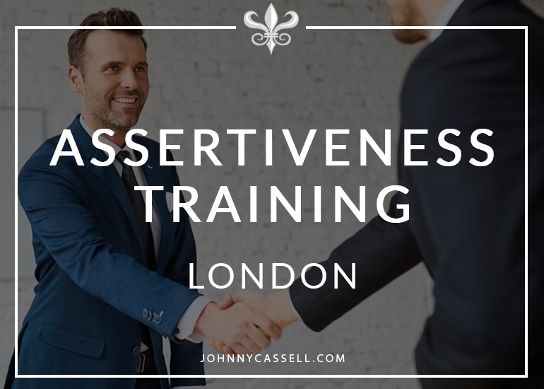 Johnny Cassell offers assertiveness training