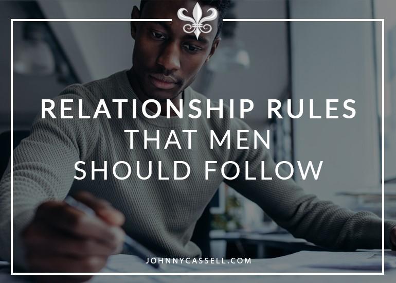 relationship rules that men should follow