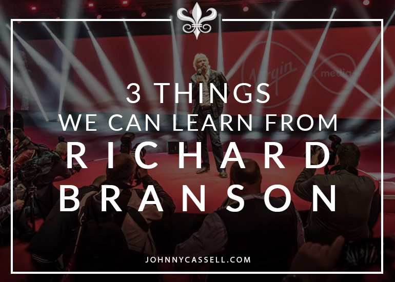 things we can learn from Richard Branson