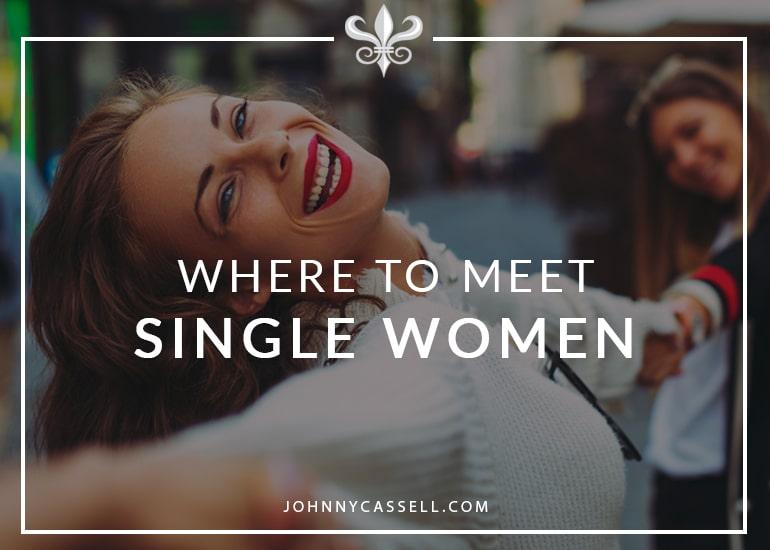 where to meet single women