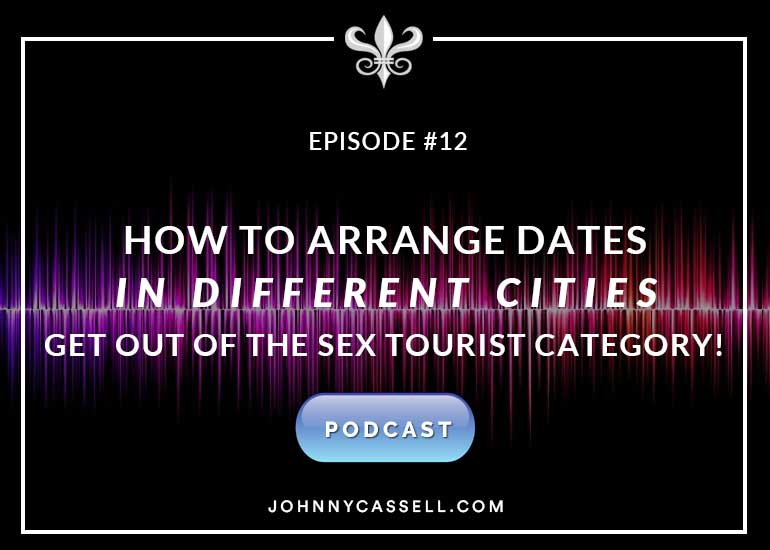 how to arrange dates in different cities